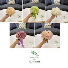 Bó 10 bông hoa mẫu đơn không lá , hoa giả nhân tạo
