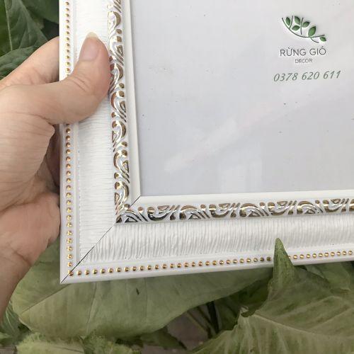 Khung Bằng Khen A4 màu trắng - bản 4cm MS04